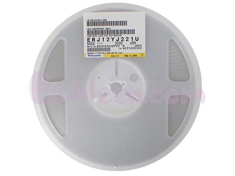 Panasonic|抵抗器|ERJ12YJ221U