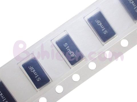 KOA|電力検出用抵抗器|SL1TTE51L0F