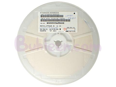 KOA|抵抗器|RN731JTTD5762B25  (5,000個セット)