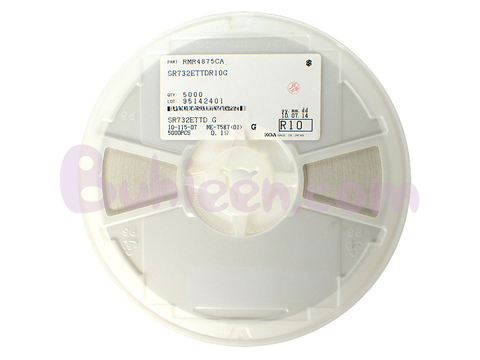 KOA|抵抗器|SR732ETTDR100G  (5,000個セット)