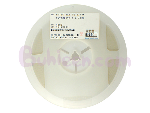 KOA|抵抗器|RN73C2ATE6491B  (4,000個セット)
