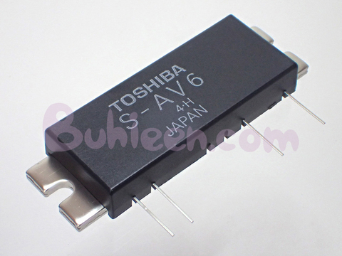 TOSHIBA|RF Power Amplifier Module|S-AV6