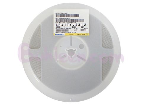 Panasonic|抵抗器|ERJ1TYJ431U