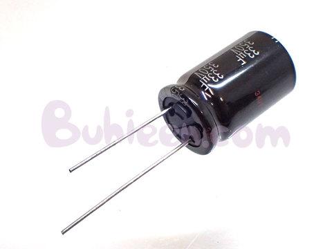 Panasonic|電解コンデンサ|ECA2VHG330  (10個セット)