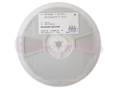 KOA|抵抗器|RK73H2ATTD7500F
