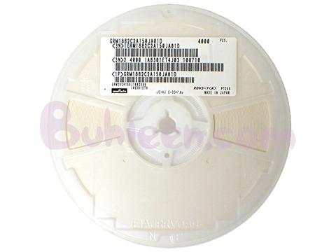 Murata|積層セラミックコンデンサ|GRM1882C2A150JA01D  (4,000個セット)