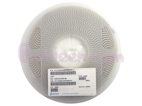 KYOCERA|積層セラミックコンデンサ|CF316W5R333K250ATST
