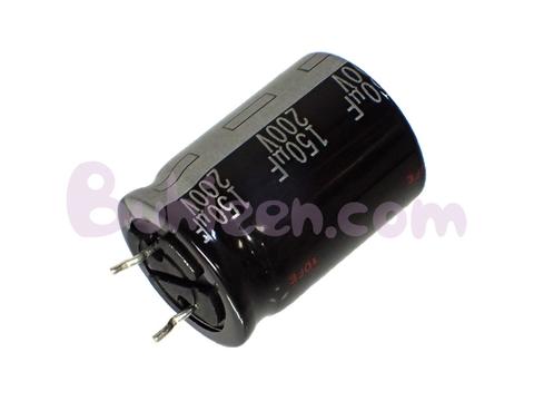 Panasonic|電解コンデンサ|EEUEB2D151SE  (10個セット)