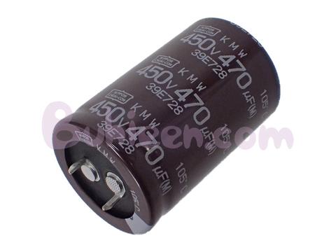 Nippon Chemi-Con|電解コンデンサ|EKMW451VSN471MR45S