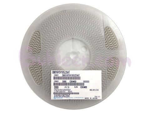 KYOCERA|積層セラミックコンデンサ|CM316Y5V105Z25AT