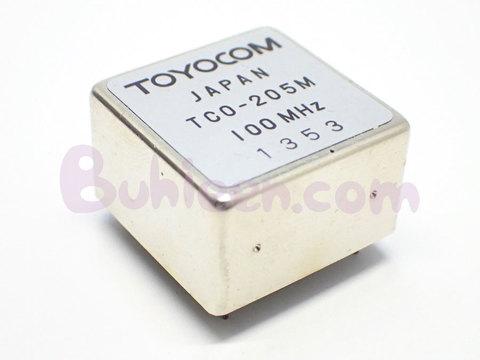 TOYOCOM|水晶発振器|TCO-205M 100MHz