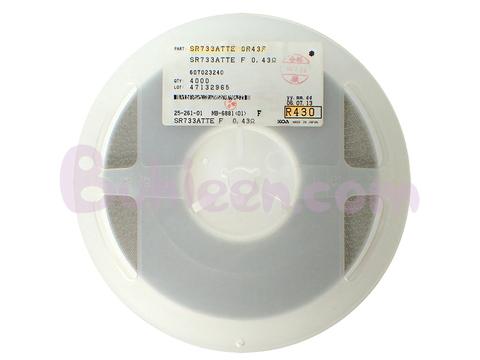 KOA|抵抗器|SR733ATTER430F  (4,000個セット)