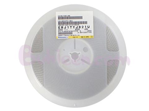 Panasonic|抵抗器|ERJ1TYJ821U