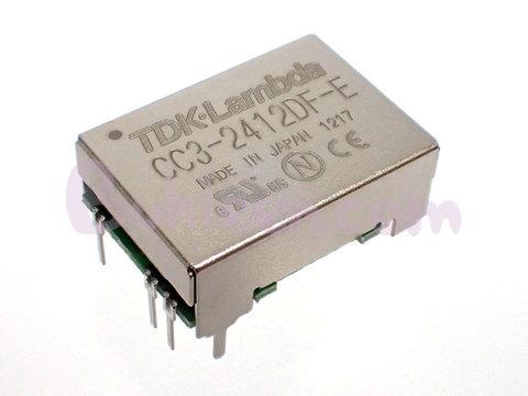 TDK-Lambda|DC/DCコンバータ|CC3-2412DF-E