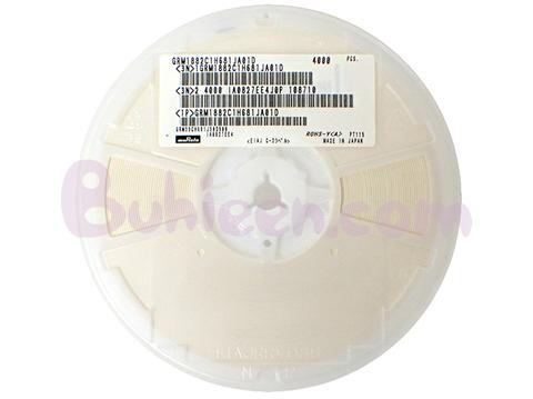 Murata|積層セラミックコンデンサ|GRM1882C1H681JA01D