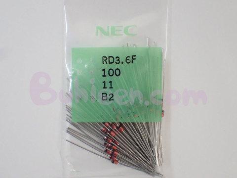 NEC|ダイオード|RD3.6F(B2)