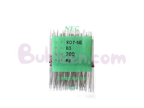NEC|ダイオード|RD7.5E(B3)