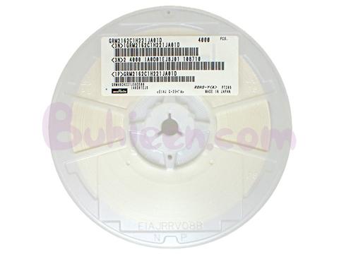 Murata|積層セラミックコンデンサGRM2162C1H221JA01D  (4,000個セット)