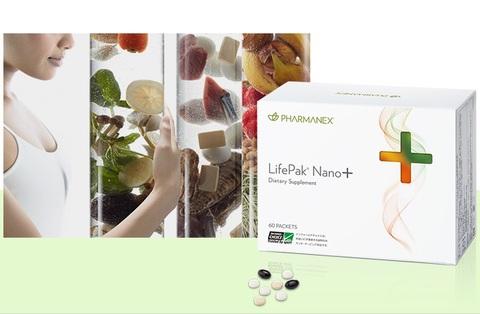 日常の栄養補助ライフパック® ナノ プラス