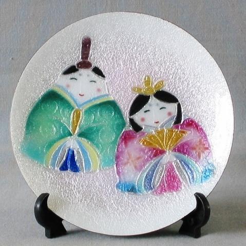 飾皿 12丸福雛(無線)