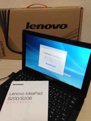 Lenovo IdeaPad S206 AMDデュアルコアC-50搭載モデル《アウトレット》