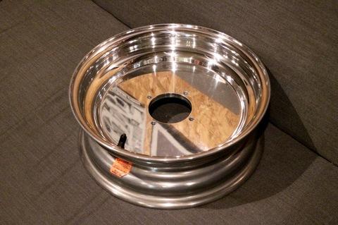 Douglas Plain Dish Front Wheel 12×4