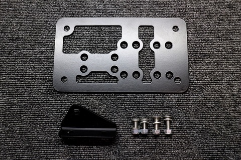 DROWsports Universal License Plate Bracket Zoomer/Scoopy/Bws/GY6