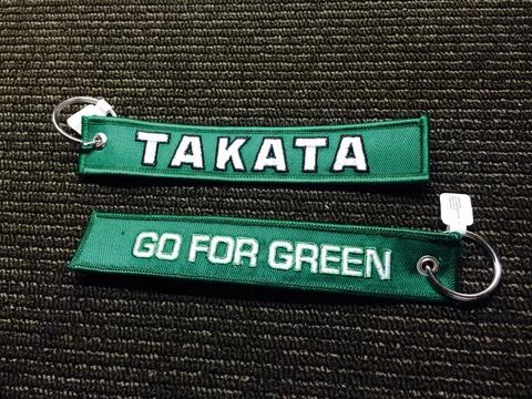 TAKATA Tag Key Chain