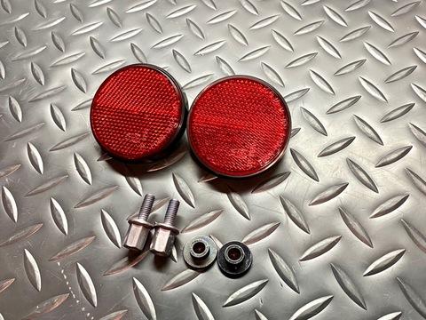Bw's125 USDM ZUMA125 Rear Reflector Set