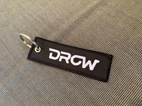 """DROWsports Keychain Flight Tag """"DROW-GROM"""""""
