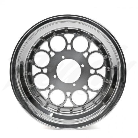 "Steady Garage Chimera ""DRAGGER"" 12inch 3-Piece Modular Front Wheel"