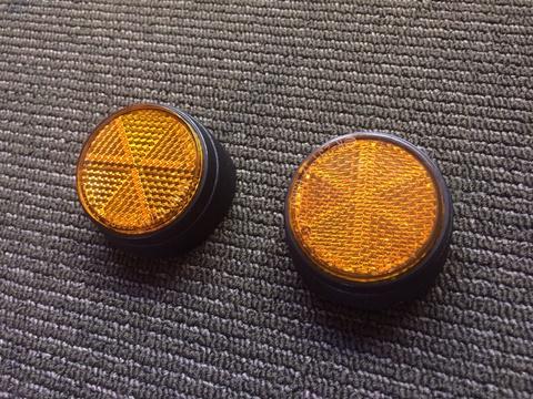 ZUMA125 Reflector Front