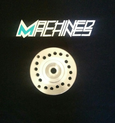 Machined Machines Universal GY6 Drum Hub