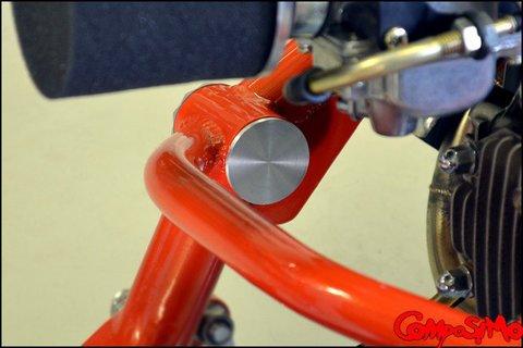 ComposiMo SlimLine Inner Frame Caps for Honda Ruckus