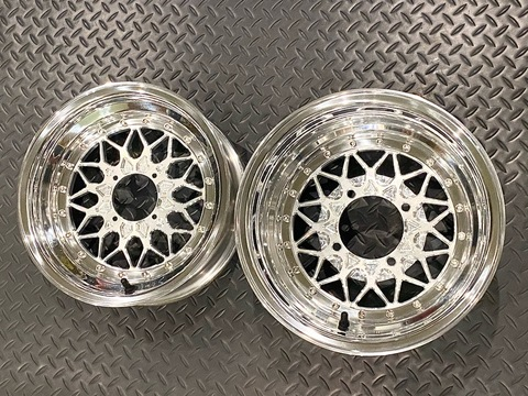 "Steady Garage Chimera ""JC Mesh"" 3-Piece Modular Wheel  12×4 12×7 M12×110"