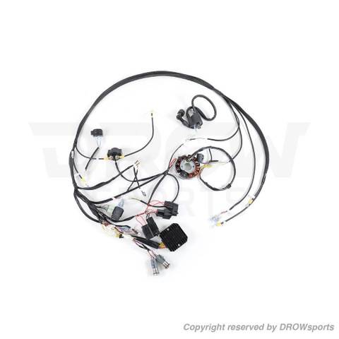 DROWsports GY6 Ruckus Plug & Play Swap Wiring Harness