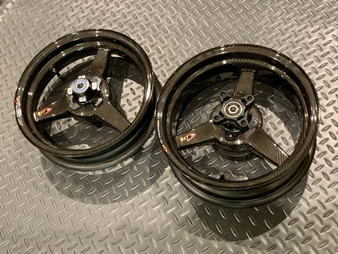 BST Carbon Fiber Wheel Set GROM/Monkey125/Z125PRO
