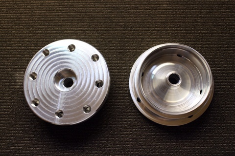FLP GET Billet Rear Hub for 12×7 Wheel