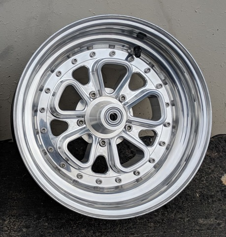 Machined Machines Billet Wide Wheel 2-Piece Concaved FOCH