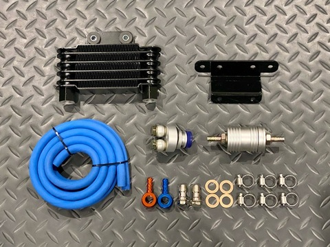 Taida GY6 Oil Cooler Kit