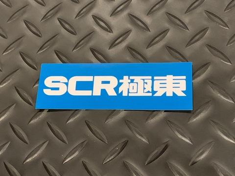 """SCR_WORKS """"Far East Tokyo"""" Box Logo Decal"""
