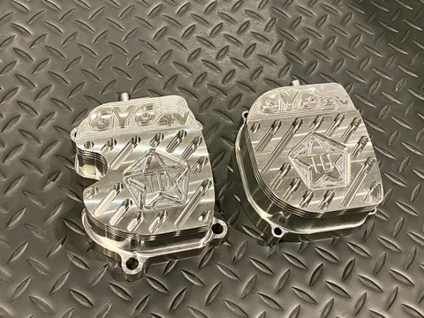 Taida Billet Cooling Head Cover GY6
