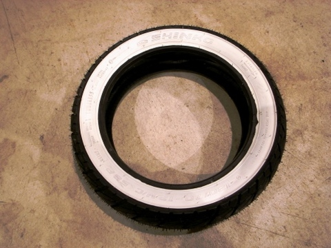 SHINKO SR723 130/70-12 WHITE WALL