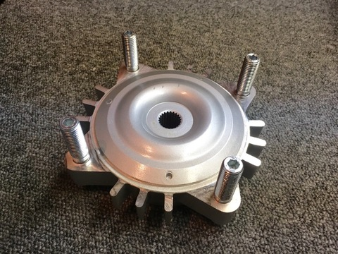 Machined Machines GET Rear Hub M12×136PCD