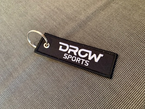 DROWsports Keychain Flight Tag #stayriding