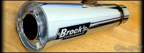 Brocks Mini-MEG Exhaust GROM/MSX125