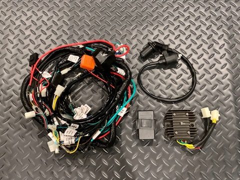 ATR G5 GY6 Engine Swap Harness - Honda Ruckus