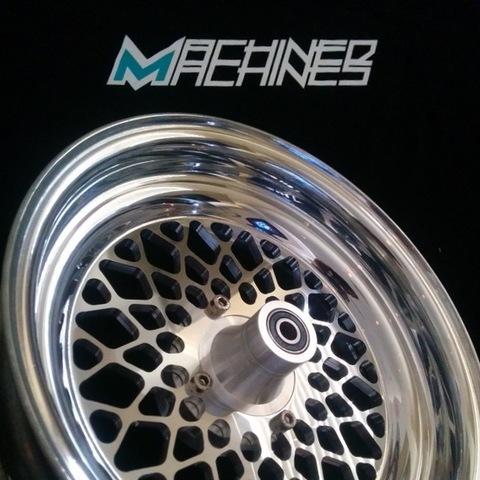 Machined Machines Billet Wide Wheel 1-Piece