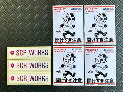 SCR_WORKS Ghetto Pack