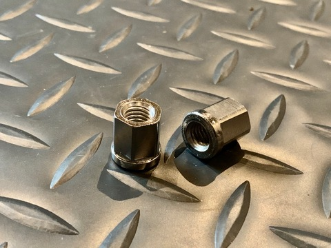 NCY M8 Exhaust Nuts 12mm Head
